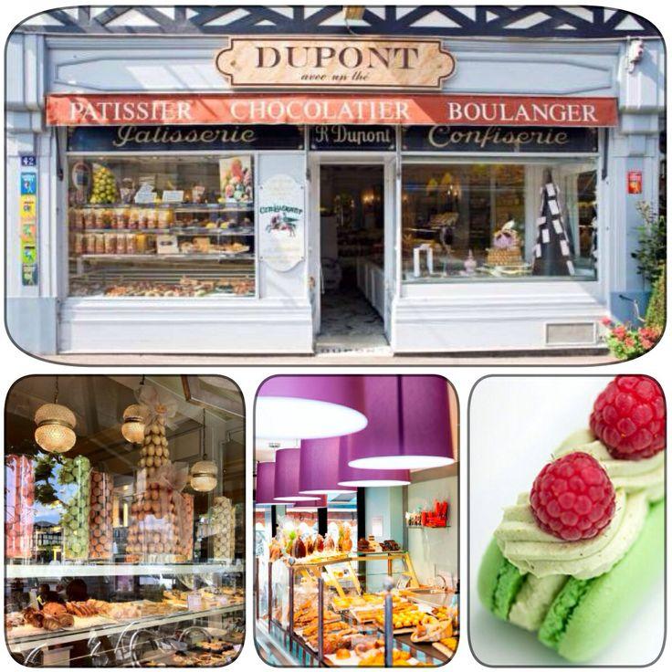 Dupont avec un Thé . Dives sur Mer . Deauville .Trouville