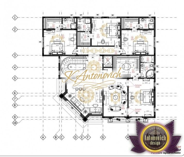 Luxury House Plan Villa 13 Luxury House Plans Country Style House Plans Luxury House Designs