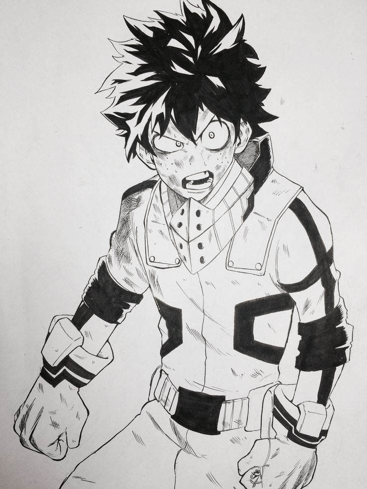 Boku no Hero Academia || Midoriya Izuku (Dibujo/Drawing ...