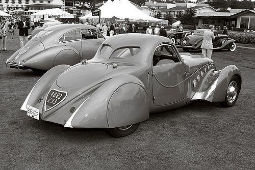 1937 Peugeot 402 Darl'Mat Coupe