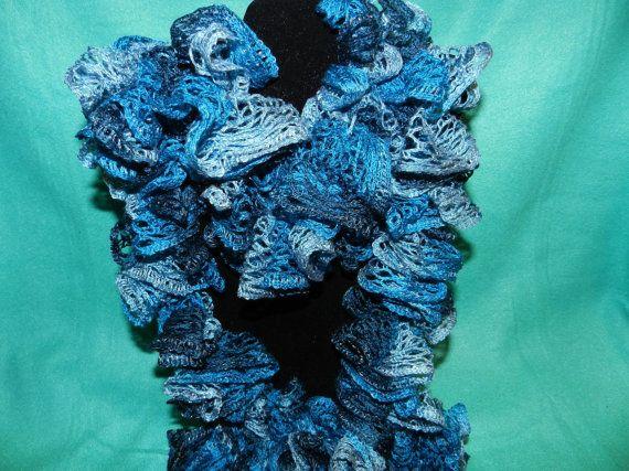 Handmade Red Heart Boutique Sashay Crochet by JnJHandmadeGifts, $10.00