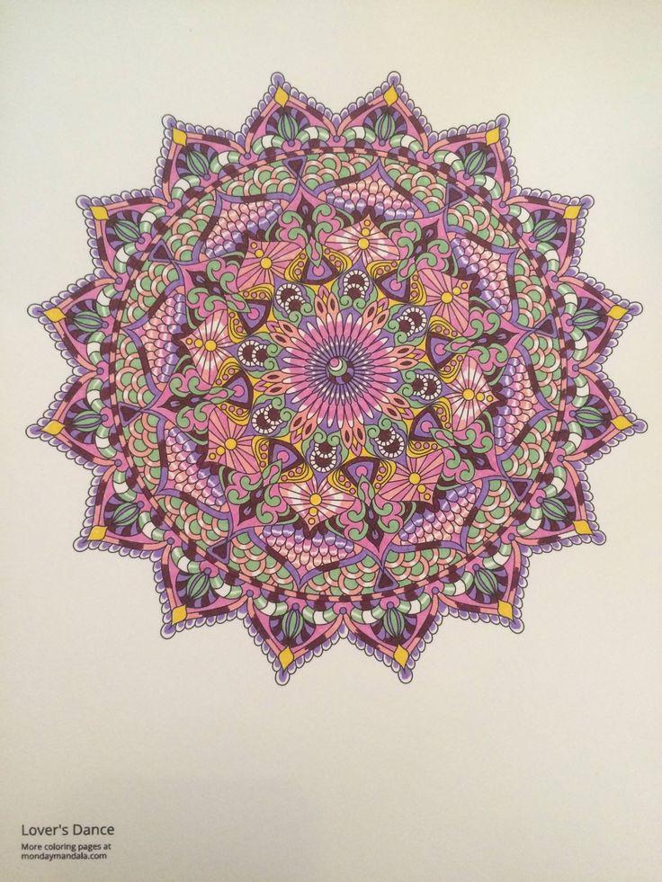 1000 Ideas About Mandala Coloring On Pinterest