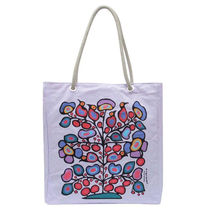 Norval Morrisseau Woodland Floral Eco-Bag - Available Apr 2017
