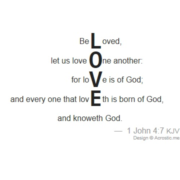 valentine bible quotations