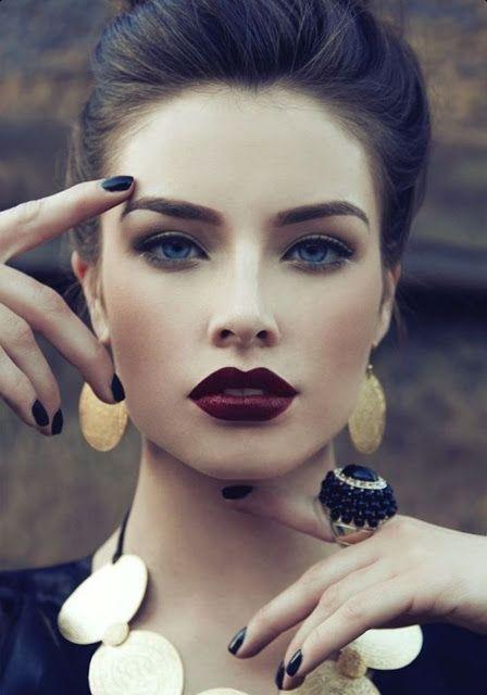 Cindy's World!: How To Wear Dark Lipstick!!