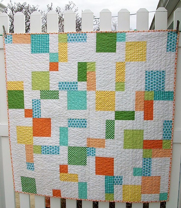 15 best Disappearing 9-patch quilts images on Pinterest | Costura ... : modern quilt tutorials - Adamdwight.com