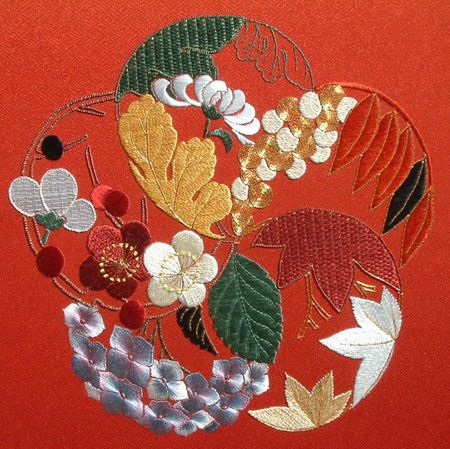 JAPANESE EMBROIDERY SITE