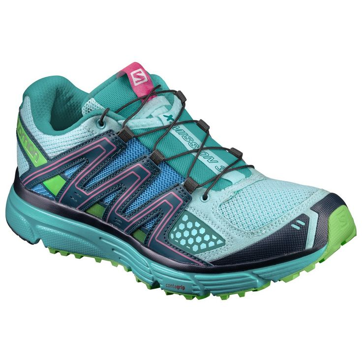 Accept the challenge of any surface with the updated X-Mission 3 Women's running shoe. You'll be ready for your next mission. Specs WEIGHT: 2/5 (250g) CUSHIONING: 3/5 DURABILITY: 3/5 AGILITY: 3/5 GRIP