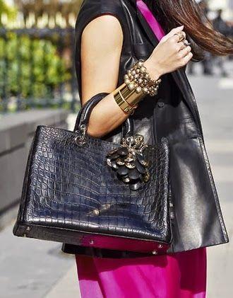 YOUR ULTIMATE GUIDE TO HANDBAGS: Dior Diorissimo