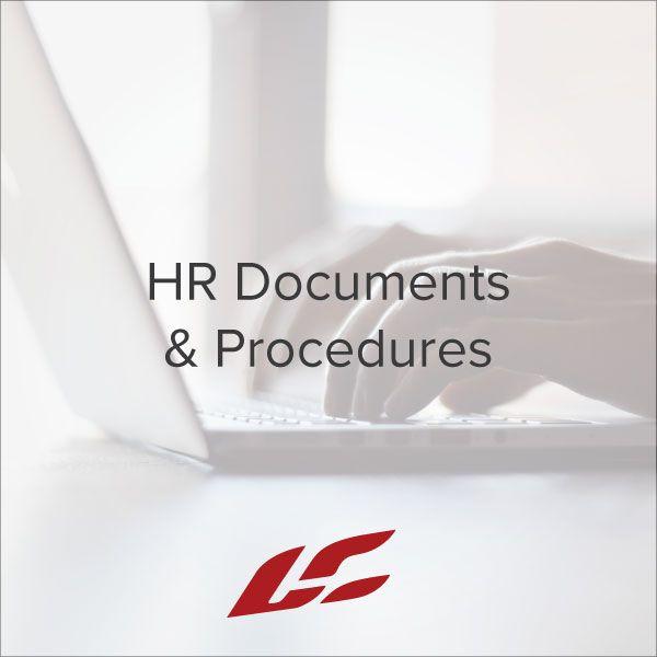 HR Documents & Procedures