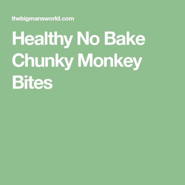 Healthy No Bake Chunky Monkey Bites