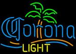 Corona Light Palm Tree Neon Beer Sign, Corona Neon Beer Signs & Lights | Neon Beer Signs & Lights. Makes a great gift. High impact, eye catching, real glass tube neon sign. In stock. Ships in 5 days or less. Brand New Indoor Neon Sign. Neon Tube thickness is 9MM. All Neon Signs have 1 year warranty and 0% breakage guarantee.