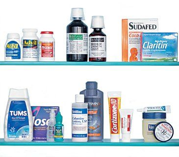 Things to have in case of illness or emergency