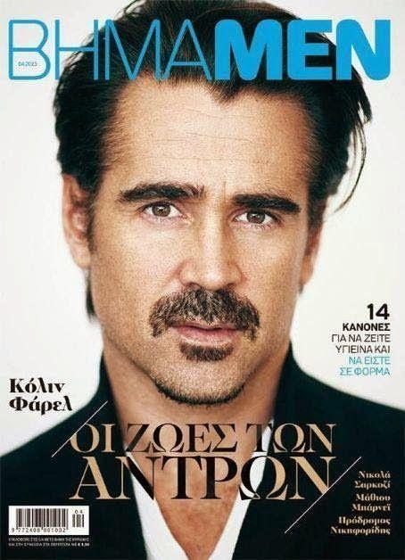 Colin Farrell - Bhmamen Magazine Cover [Greece] (April 2015)