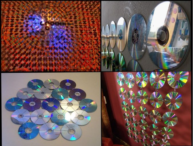Diy Wall Decoration With Cd : Best images about cd on pictures of