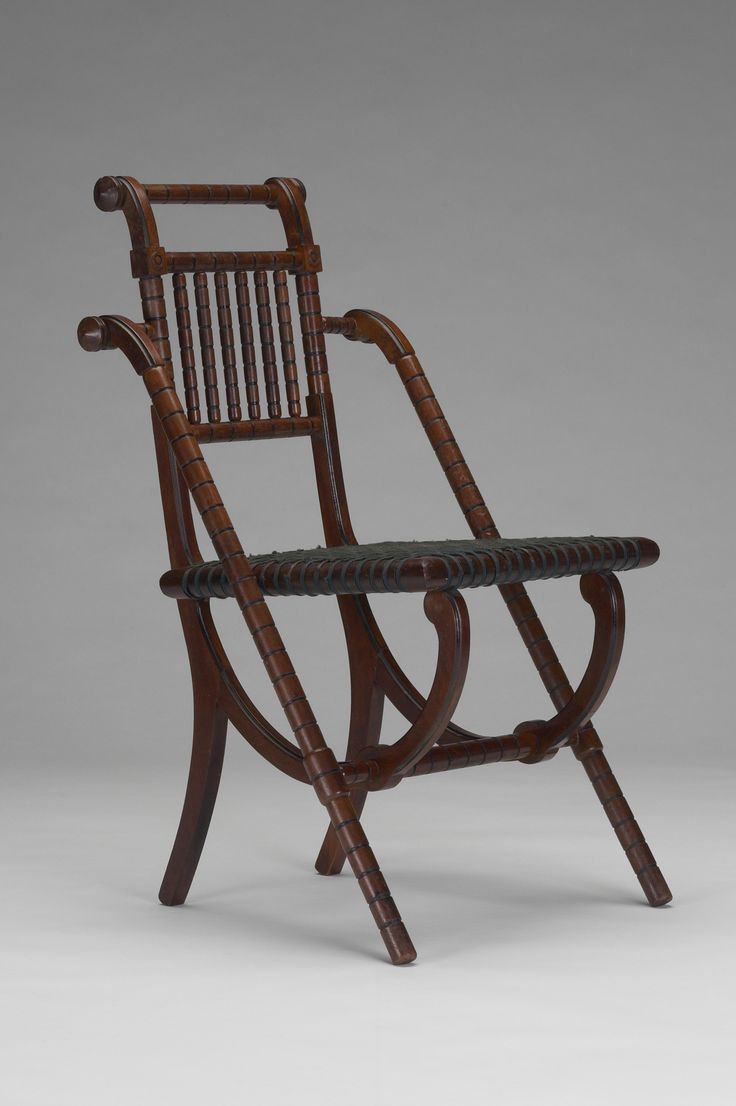 Queen anne chair history - George Hunzinger Side Chair Ca 1876 Courtesy Yale University Art Gallery
