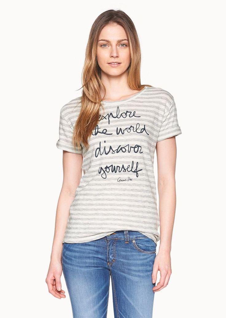 Marc O'Polo, Damen, Bekleidung, T-Shirts / Tops, Organic T-Shirt, von Garance Dorè