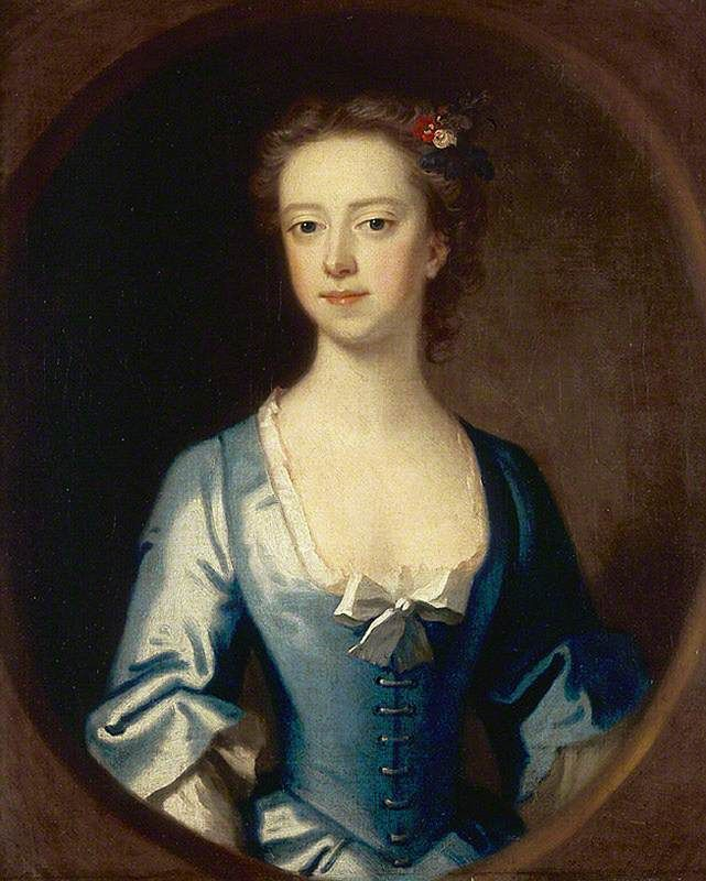 """Anne Stucley, Mrs Francis Luttrell of Venn (?)"", attr. Enoch Seeman the younger, ca. 1730; NT 726097"