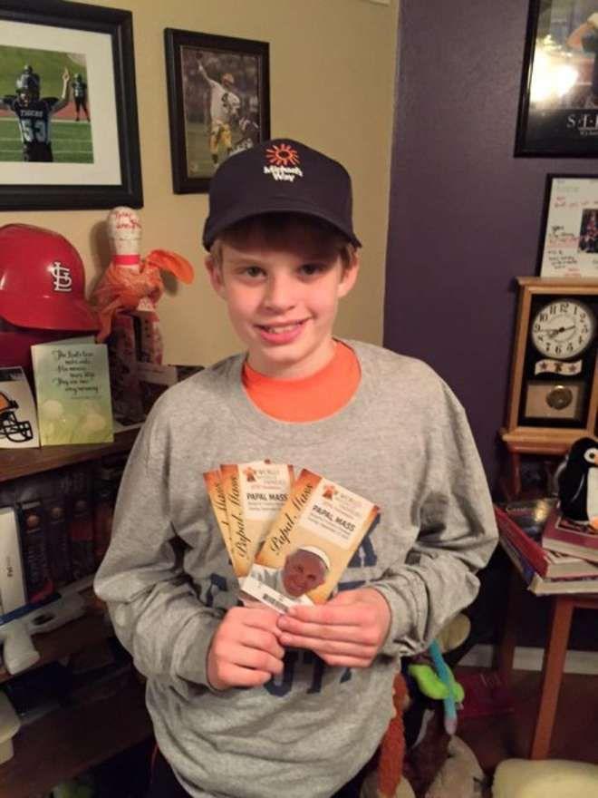 MISSOURI Ha solo 12 anni e un male: Brett ha un tumore al cervello e la religione è un sostegno contro il