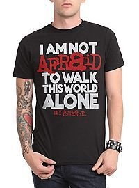 Somebody drive me to Hot Topic right now! HOTTOPIC.COM - My Chemical Romance Not Afraid Slim-Fit T-Shirt