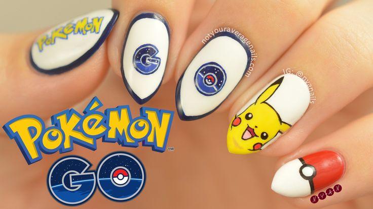 #PokémonGO Inspired Nail Art Tutorial