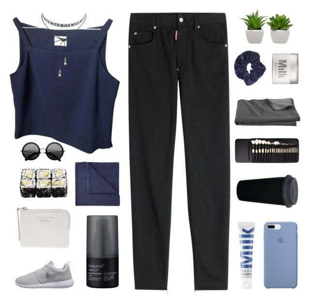 """""""RANDOM WENDY PART 1♡ RTD"""" by expresng ❤ liked on Polyvore featuring Dsquared2, MILK MAKEUP, Living Proof, Elite, Crate and Barrel, Miss Selfridge, JCPenney Home, NIKE and Acne Studios"""