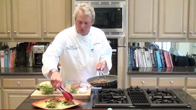 Join Chef Lance Youngs as he prepares a delicious, healthy meal of John Soules Foods Angus Carne Asada Tacos in this week's recipe video! The perfect meal for busy weeknights!    Want to WIN the John Soules Foods product seen in this video?     Leave a comment for this video on Youtube and subscribe to our Youtube channel to qualify to win. One lucky fan will be randomly selected to win a package of John Soules Foods Angus Carne Asada! Winner announced next Monday! Click on image for video.
