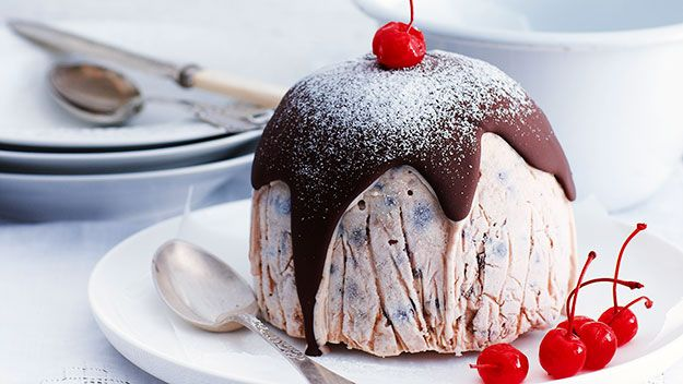 Christmas ice-cream pudding :: Australian Women's Weekly Mobile