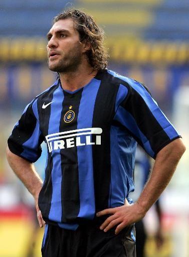 """Christian """"Bobo"""" Vieri-- Inter Milan F.C."""