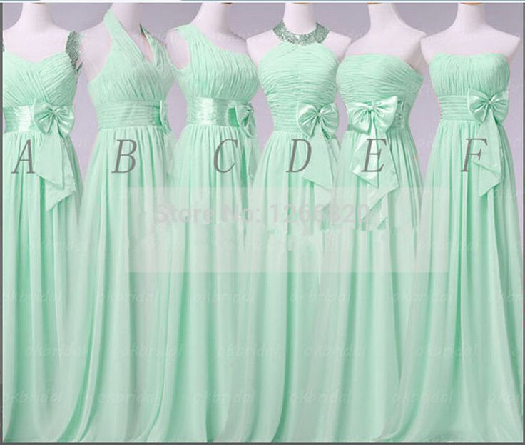 Find More Bridesmaid Dresses Information about Hot Queen Long Mint Green Bridesmaid Dress 2014 new Big Bow Floor Length Long Party Dress,High Quality dress usa,China dress sheath Suppliers, Cheap dress up black dress from Sao Tome Garments Co., Ltd. on Aliexpress.com