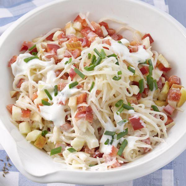 Een lekker frisse #lunch met deze selderij paprika salade! #PowerStart #WeightWatchers #WWrecept