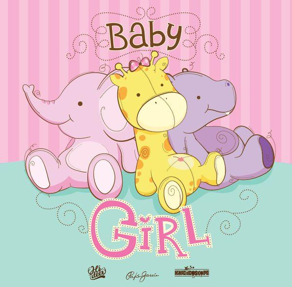 cute baby safari for boy and girl by Pako garcia, via Behance