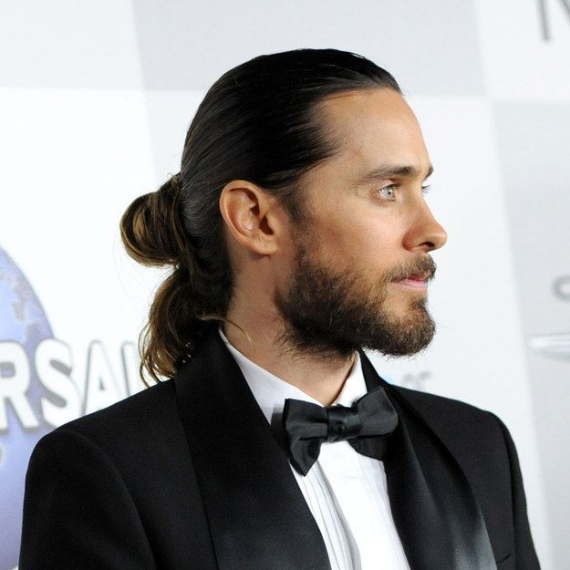 Jared Leto, whose hair is almost as beautiful as he is.