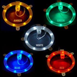 Cornhole Board Lights - Custom Corntoss - Cornhole Lights at Night