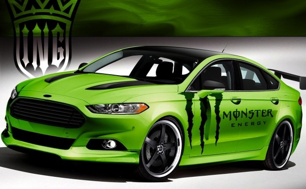 Monster Energy Ford Fusion Interesting To See This Car Of All