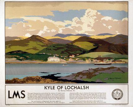 Kyle of Lochalsh - Highland Railway Line