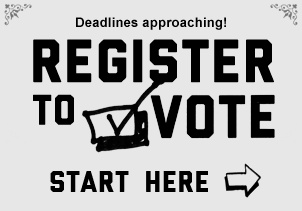 Register to Vote Here. OHIO!!!!! YOUR DEADLINE TO REGISTER IS TOMORROW, TUES. OCT. THE 9TH!!!! OBAMA/BIDEN 2012!!!!