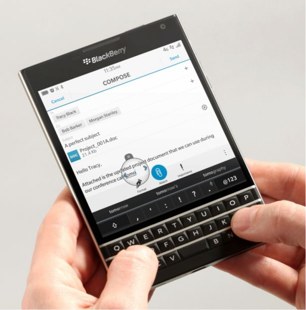 BlackBerry Passport Hands-On Video - http://blackberryempire.com/blackberry-passport-hands-video/ #BlackBerry #Smartphones #Tech