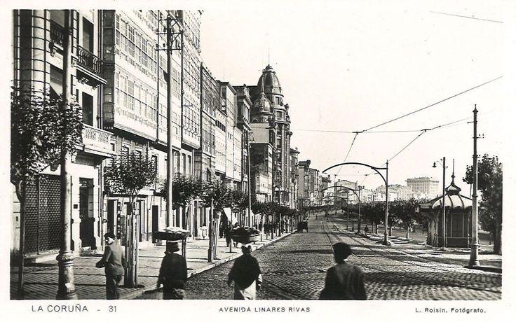 Avda. Linares Rivas 1920s