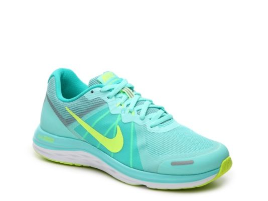 Women's Nike Dual Fusion X2 Lightweight Running Shoe -  - Turquoise