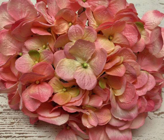 Artificial Flowers  One HUGE Hydrangea Head in by BlissfulSilks