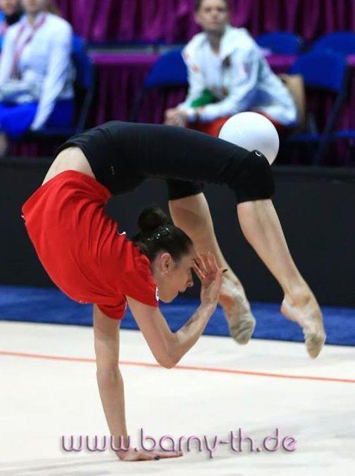 Katsiaryna Halkina (Belarus) # training, April 29 # The European Championship 2015 in Minsk (May 1-3)
