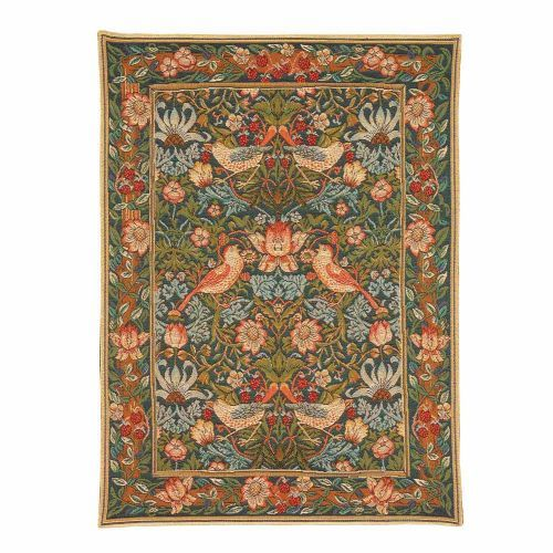 The Morris Strawberry Thief Tapestry features a classic Morris tapestry design and makes a lovely gift for any home. Part of the tapestry collection at English Heritage shop. Buy the Morris Strawberry Thief Tapestry online at English Heritage.