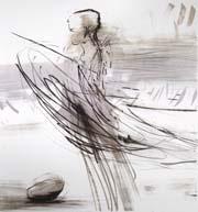 Runi Langum - kunstner - grafikk - tegning