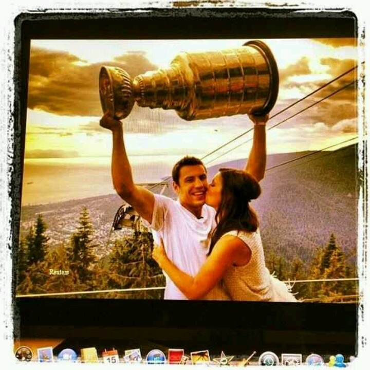 Brittany & Milan Lucic