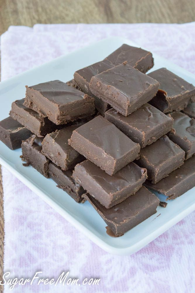 Sugar Free, Dairy Free Fudge you can make in the Crock Pot?  OH MY this is a definite gotta try :)