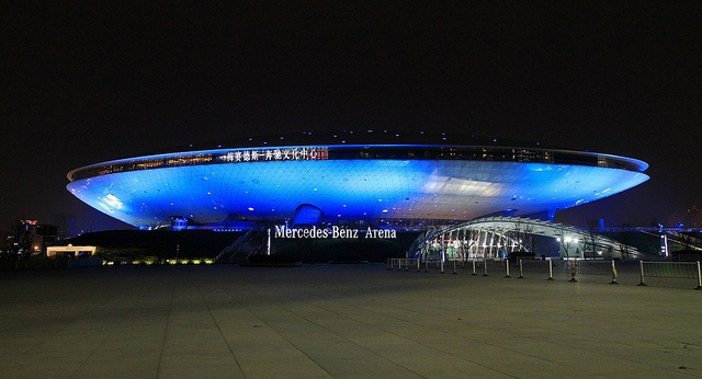 Mercedes Benz Arena - Shanghai, China | Flickr - Photo Sharing!