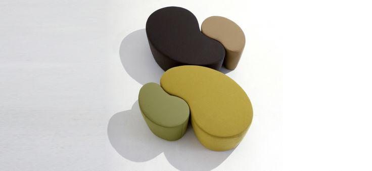 small table, pouff _ bonaldo _ cube