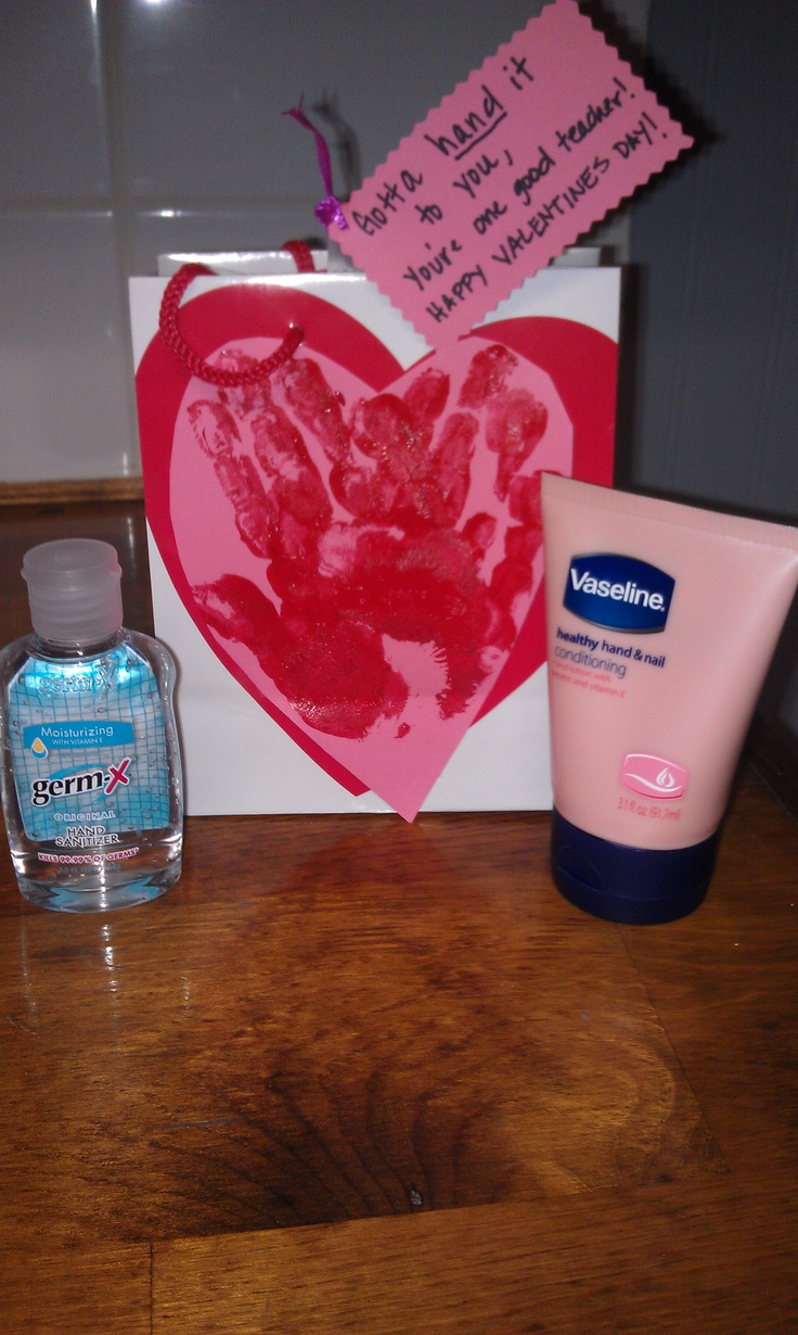 teachers valentines present - seasonal crafts/just for kids