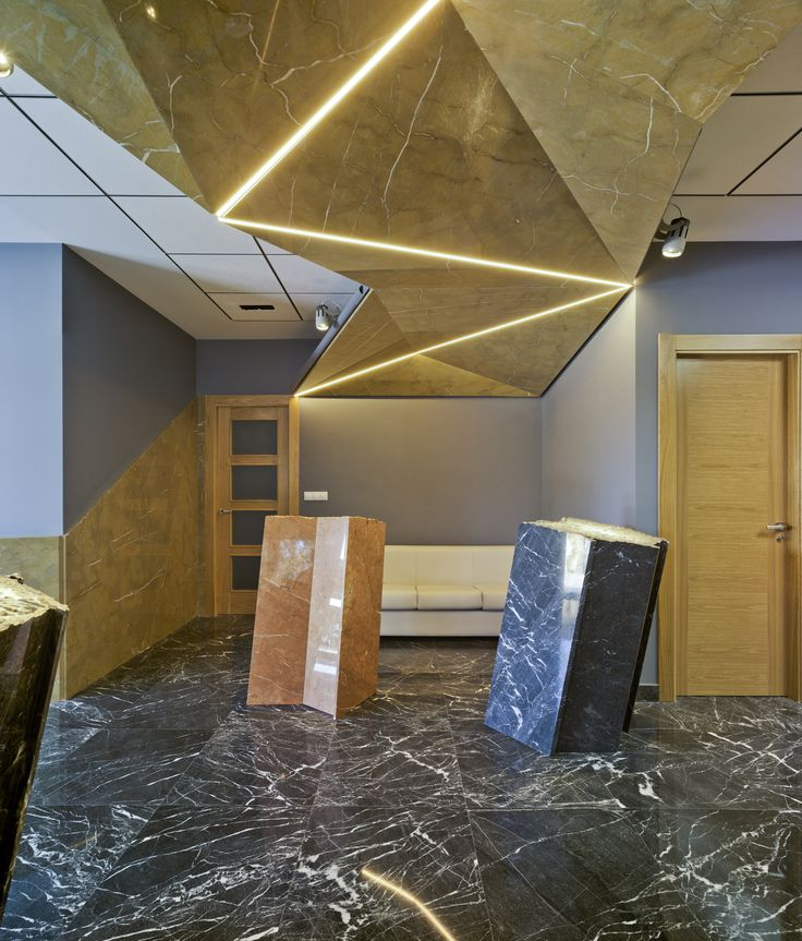 El showroom la romanense de mármoles es uno de nuestros últimos proyectos en colaboración con flapstudio